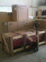 Большое поступление компрессоров на склад в г. Уфе