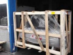 Отгрузка промышленных поршневых компрессоров в Карламан
